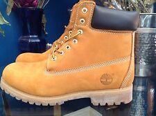 """Timberland's Men's Classic Suede Premium Waterproof 6"""" Boots Size 10 Model 10061"""