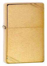"Zippo ""1937 Replica"" Brushed Brass Finish Lighter, Full Size,  240"