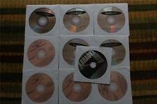 10 CDG LOT ROCK/COUNTRY KARAOKE HITS -PINK FLOYD,PATSY CLINE CD+G 20g