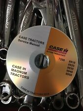 BEST CASE 8910 8920 8930 8940 Magnum Tractor Service Repair Manual CD 7-67882