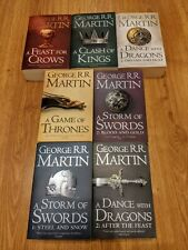 Game Of Thrones, A Song Of Ice & Fire Series, Full 7 Book Set George RR Martin