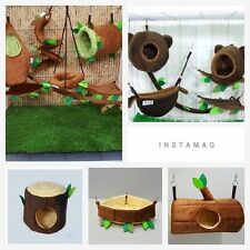Hot Sale! Big Mixed Sugar Glider Cage Set Forest Pattern ,Kullachy.shop