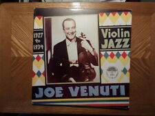 YAZOO LP RECORD 1062/JOE VENUTI/1927 TO 1934 VIOLIN JAZZ/ EX VINYL