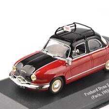 IXO Panhard Dyna Z Paris,1953 Taxi Model 1/43 Diecast Vehicle Mini Car Toy