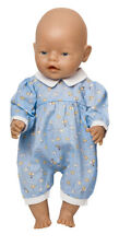 Boy Dolls Pale Blue Balloon Romper All Sizes Available Baby George/ Born.