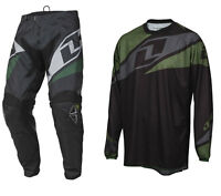 ONE INDUSTRIES ATOM MOTOCROSS MX KIT BLACK enduro bike pants jersey
