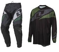 2016 ONE INDUSTRIES ATOM MOTOCROSS MX KIT BLACK enduro bike pants jersey