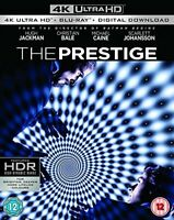 The Prestige [Blu-ray + 4k] [2017] [Region A and B and C] [DVD][Region 2]