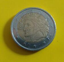 Moneta da 2 euro Dante del 2005