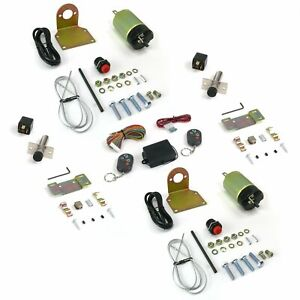 60-108 lbs Remote Shaved Door Popper Kit with Poppers