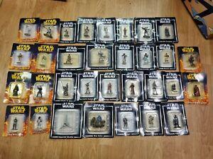 DeAgostini Lead Star Wars Figures Joblot x32 new and sealed