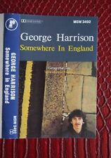 Cassette - George Harrison, Somewhere In England - 1981 Dark Horse Records