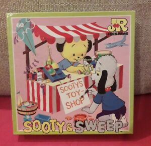 Very Sweet Sooty & Sweep Vintage 1988 Jigsaw Puzzle, Sooty's Toy Shop, Complete!