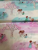 Wee Wander Woods Sarah Jane Fabric Material Michael Miller DC6225 by metre / FQ