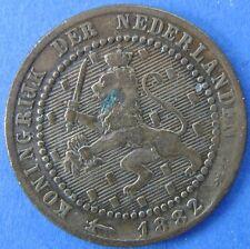 Nederland- Netherlands - 1 cent 1882 KM# 107