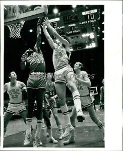 1971-72 Brian Heublein USC Basketball Guard Original News Service Photo
