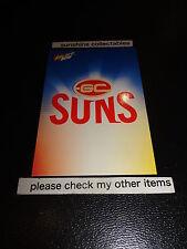 2012 SELECT AFL CHAMPIONS BASE CARD NO.85 CHECKLIST GOLD COAST