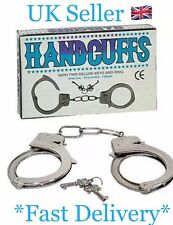 Kids Playing Police Games Handcuffs With Key Uk Seller