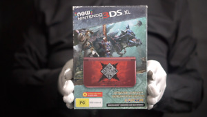 Nintendo New 3DS XL Limited Monster Hunter PAL Console Boxed - 'The Masked Man'
