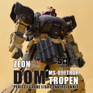 SH X GMD Gundam PG ZEON004 MS-09FTROP DOM TROPEN GK Conversion Kits 1/60
