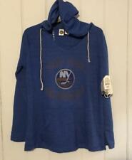 NWT New York Islanders Women's Lightweight Mainstream Hoodie Sweatshirt Large