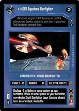 Star Wars CCG Theed Palace DFS Squadron Starfighter