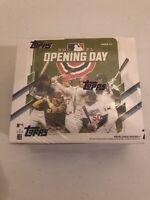 ☆☆🔥 2021 Topps Opening Day Baseball Card Hobby Box Factory Sealed 36 Packs 🔥☆☆