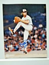 Jim Palmer (HOF) Autographed 8x10 - Baltimore Olrioles - Cooperstown Colletion
