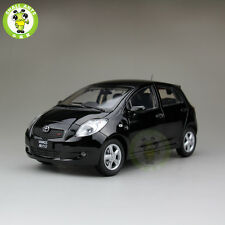 1:18 Toyota New Yaris Diecast Car Model Black Color