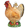Old World Christmas SPRING CHICKEN (16115)N Glass Ornament w/OWC Box