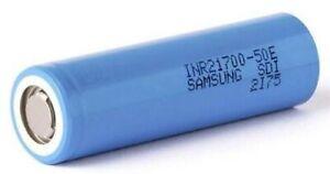 Samsung INR21700 - 50E 5000mAh - ORIGINALE Batteria Ricaricabile Li Ion x5PZ