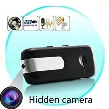 U8 Video Recorder Pinhole USB Disk Flash Drive Spy Hidden Camera Nanny Cam New