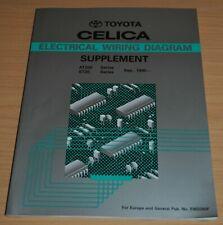 Toyota Celica ST202 204 205 AT200 Elektrik Schaltpläne 95 Werkstatthandbuch