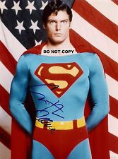 CHRISTOPHER REEVE 8X10 AUTHENTIC IN PERSON SIGNED AUTOGRAPH REPRINT PHOTO  RP