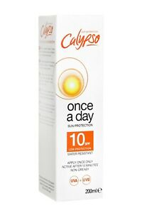 Calypso Once a Day Sun Protection | SPF 10 | 8 hours protection | 200ml