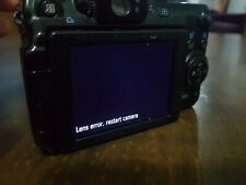 ( Lens error )Canon PowerShot G11 3632B00 10MP Compact Digital Camera Black