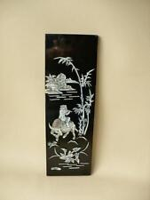 Chinese  Wall  Plaque  - Mother Of Pearl Wall Sculpture -