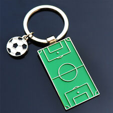 Key Ring Key Holder Fashion Gift Creative Alloy Football Field Metal Key Chain