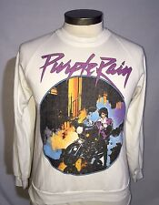 RARE VTG 80s PRINCE AND REVOLUTION PURPLE RAIN WORLD TOUR SWEATSHIRT SHIRT 1984