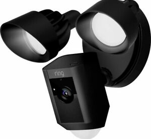 Ring Motion Activated Floodlight Security Camera - Black.