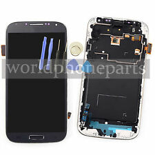 For Samsung Galaxy S4 i9505 Full LCD Touch Glass Digitizer Screen Frame Assembly