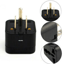 Universal EURO EU UK AU to US USA Canada AC Travel Power Plug Adapter Converter