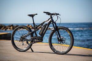 AMAZING VOLITION MAX Australian Made Electric Bike 52V Mid Drive 55Kmh