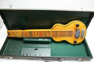 Roger Wenzel Rossmeisl Lap-Steel Gitarre Hawaii Gitarre wohl 50er Jahre Rarität