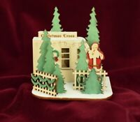 GINGER COTTAGES CHRISTMAS TREE LOT CHRISTMAS ORNAMENT MADE IN USA GC130
