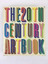 The 20th Century Art Book Phaidon Hardcover 1996 DAMAGED Craft