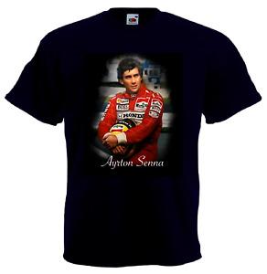 Ayrton Senna T-shirt   Formula One World Driver' Champion T-SHIRT