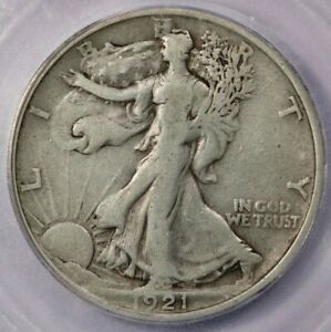 1921-P 1921 Walking Liberty Half Dollar ICG F15