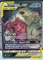 ULTRA RARE Mega Sableye /& Tyranitar GX Tag Team 126//236 Holo Foil Pokemon LP
