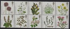 GB 2009 Endangered Plants SG 2931-40 MNH